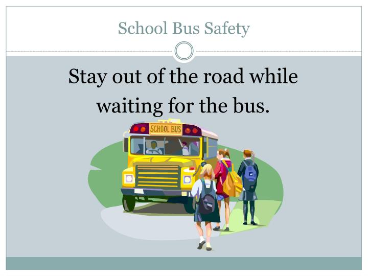 School bus safety1