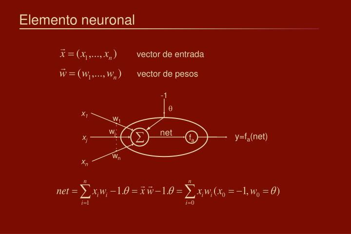 Elemento neuronal