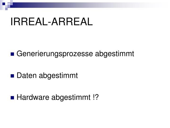 IRREAL-ARREAL