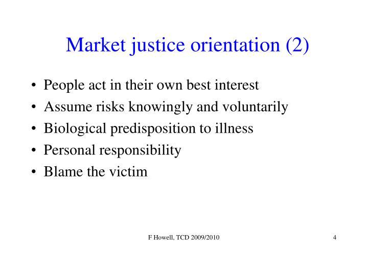 Market justice orientation (2)