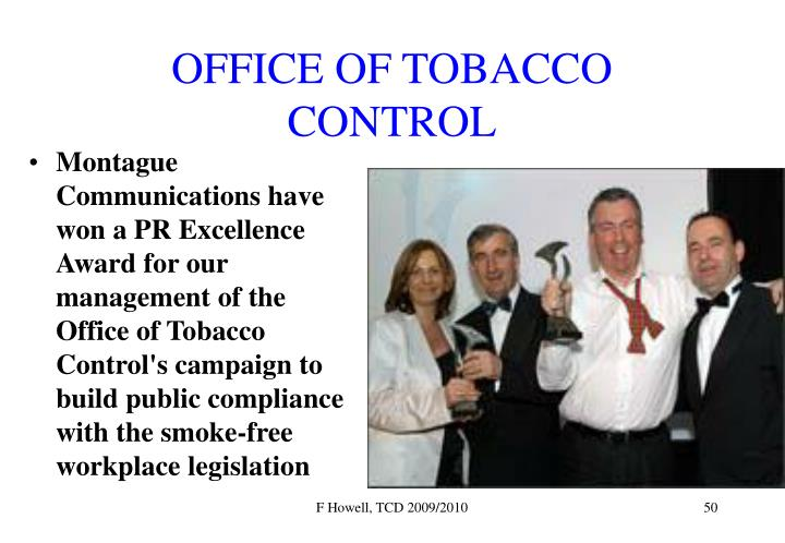 OFFICE OF TOBACCO CONTROL