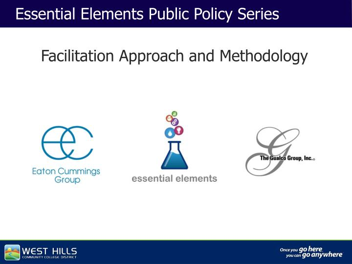 Essential Elements Public Policy Series