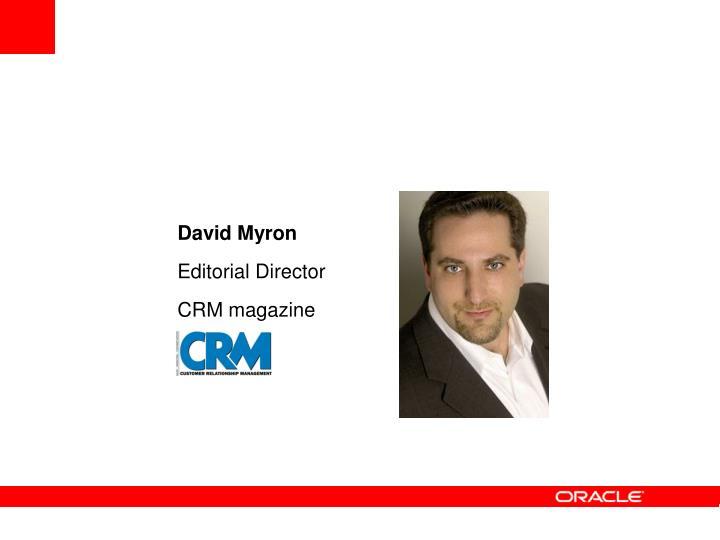 David Myron