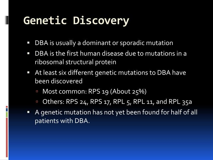 Genetic Discovery