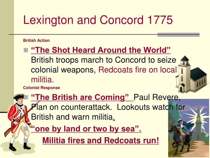 Lexington and Concord 1775