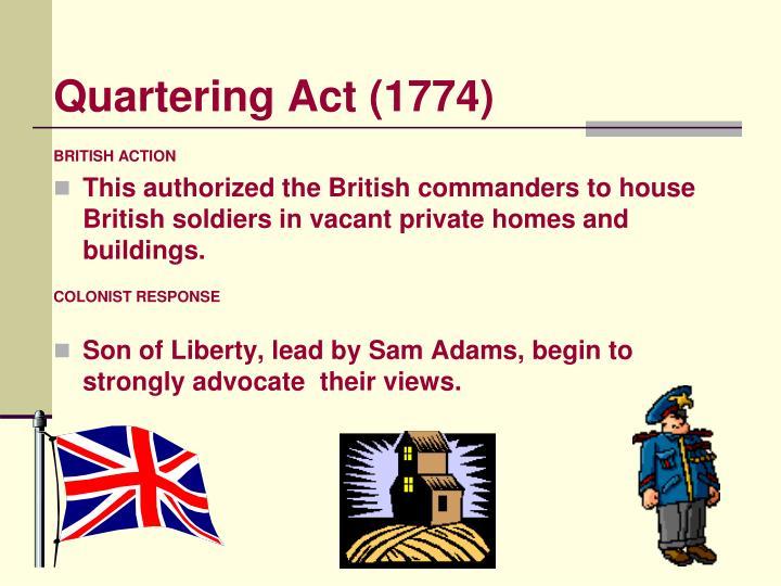 Quartering Act (1774)
