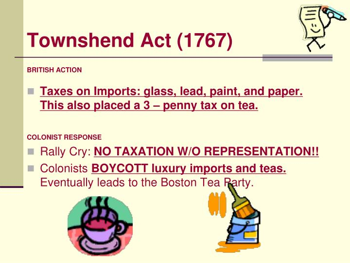 Townshend Act (1767)