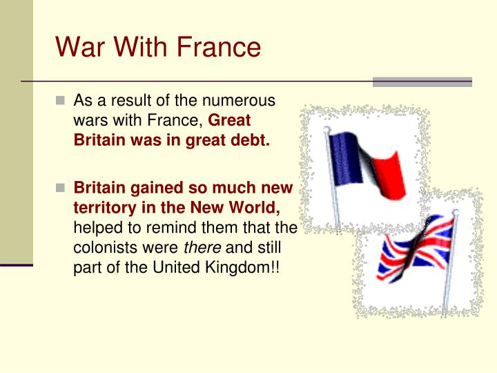 War with france