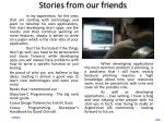 stories from our friends1