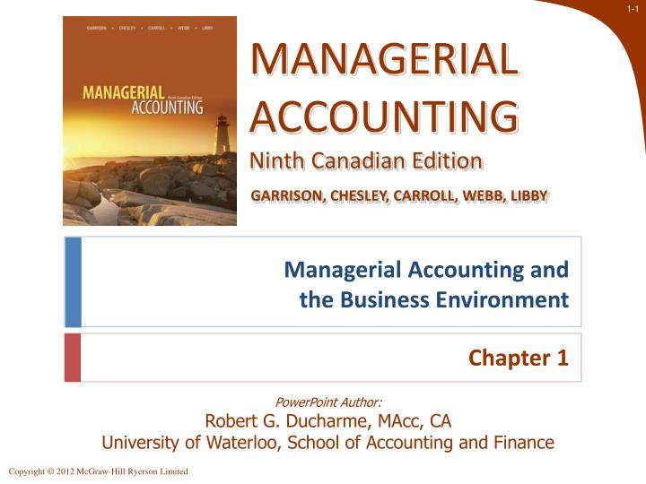 managerial accounting review ch 8 12 Chapter 1 11 the annual language is caused by a consistency departure due to a change in accounting the sec will formally target companies for review that.