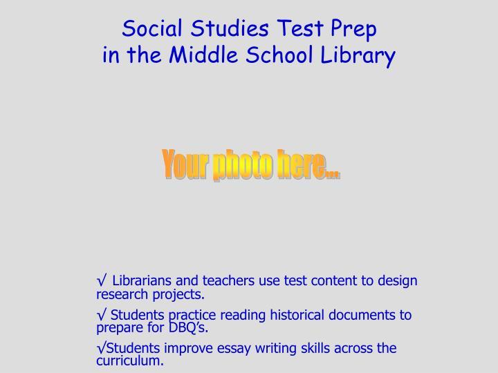 Social Studies Test Prep