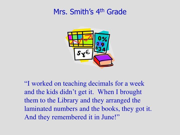 Mrs. Smith's 4