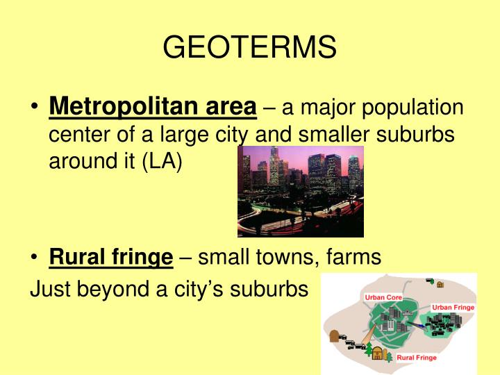 GEOTERMS