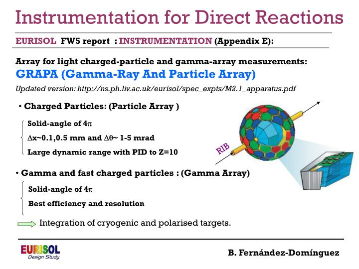 Instrumentation for Direct Reactions