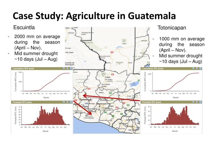 Case Study: Agriculture in Guatemala