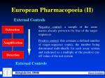 european pharmacopoeia ii