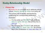 entity relationship model14