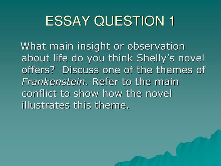 the essay question For detailed essays, there are usually a number of ways to interpret the question this guide gives you a logical approach to fully understanding the question.