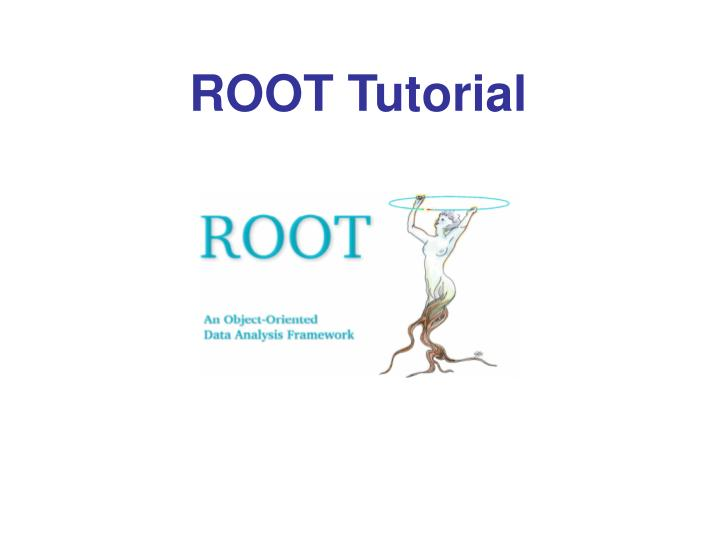 ROOT Tutorial