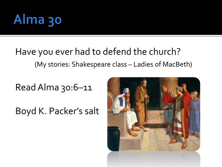 Alma 30