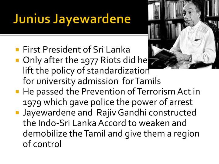 Junius Jayewardene