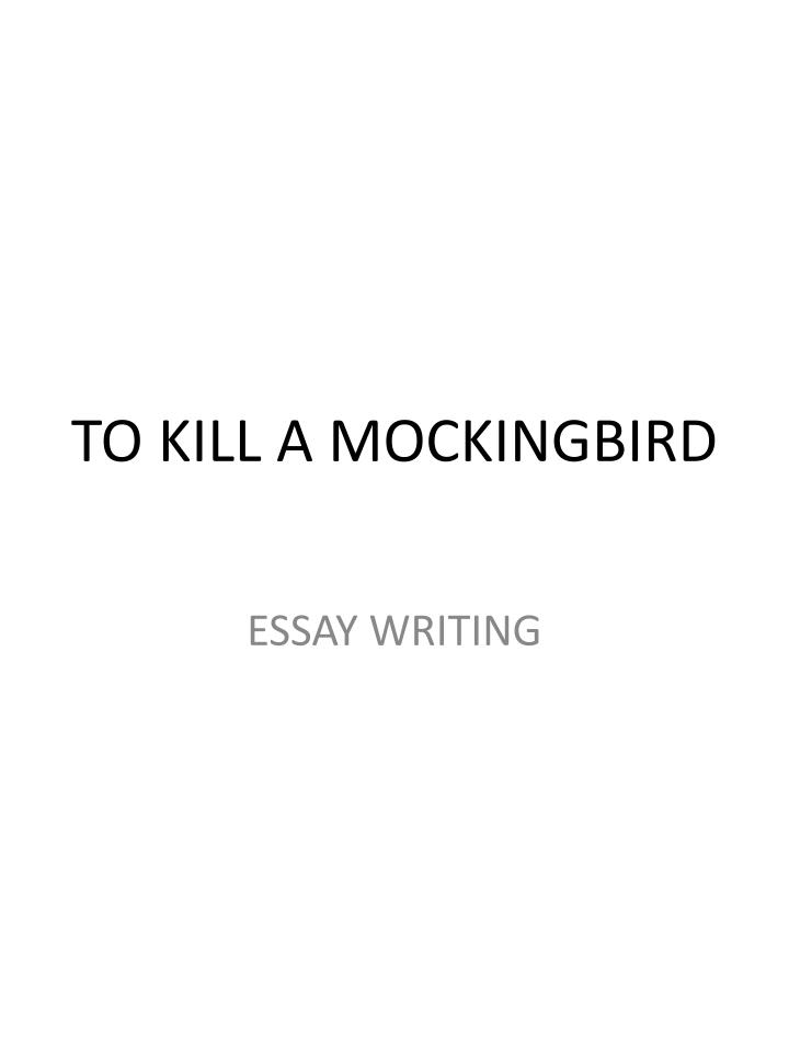 To Kill A Mockingbird Prejudice Essay