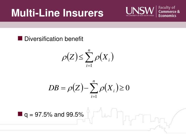 Multi-Line Insurers