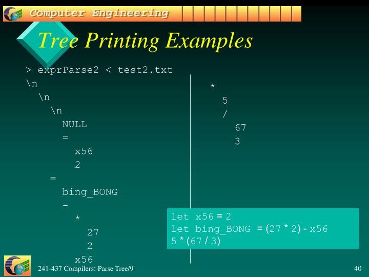 > exprParse2 < test2.txt