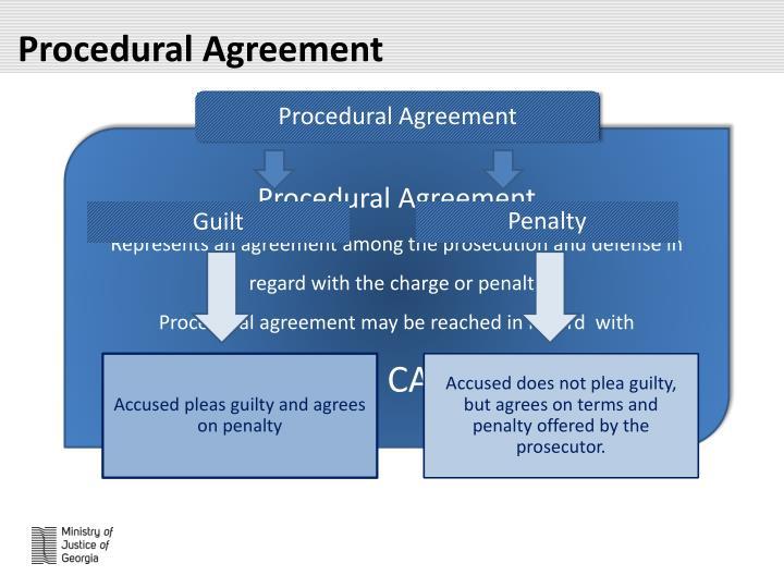 Procedural Agreement