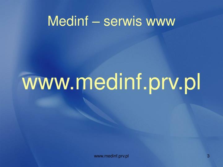 Medinf – serwis www