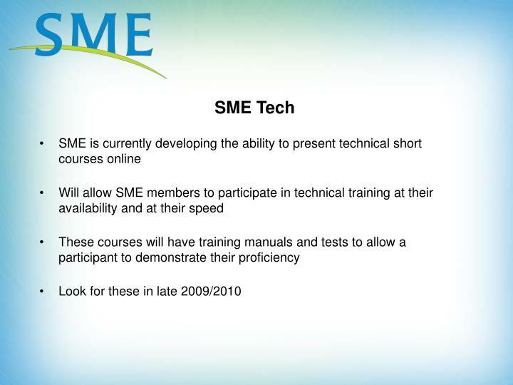 SME Tech
