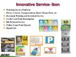 innovative service ibon