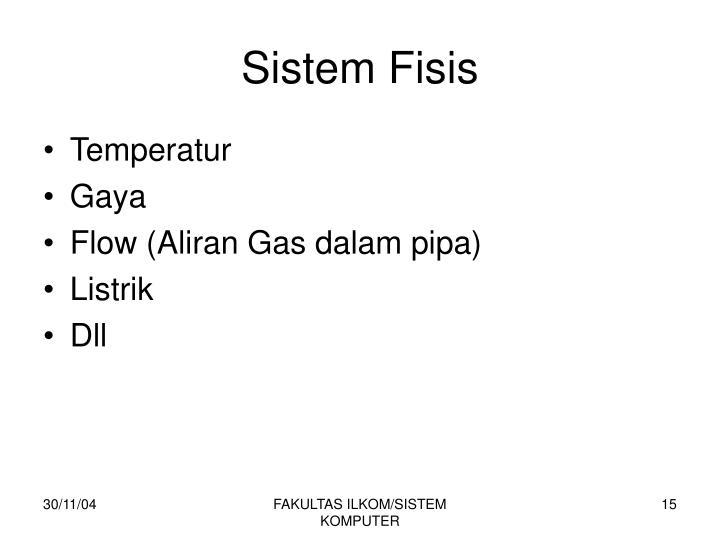 Sistem Fisis