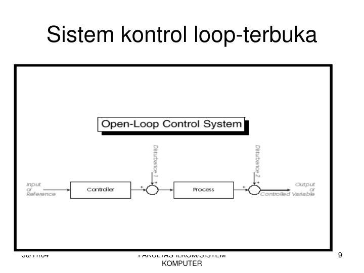 Sistem kontrol loop-terbuka
