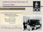 lutheran social services of central ohio