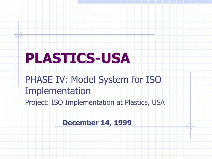 PLASTICS-USA