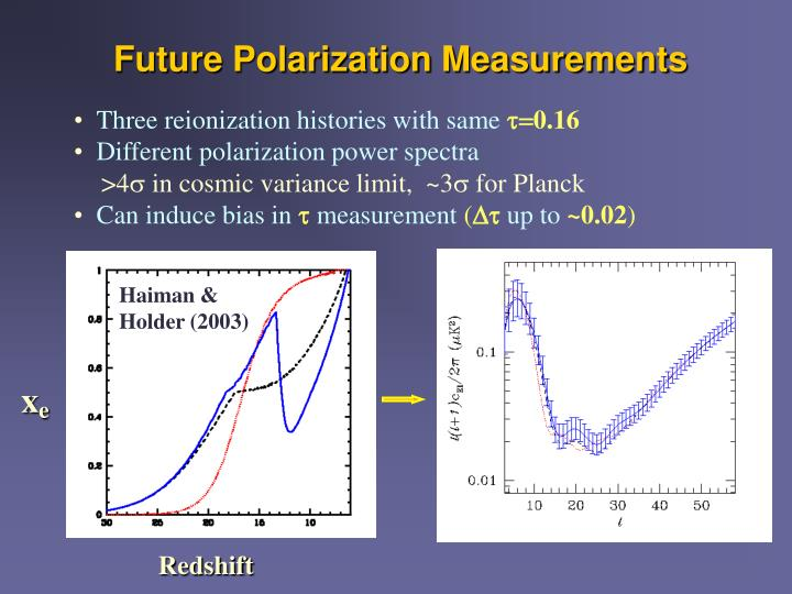 Future Polarization Measurements