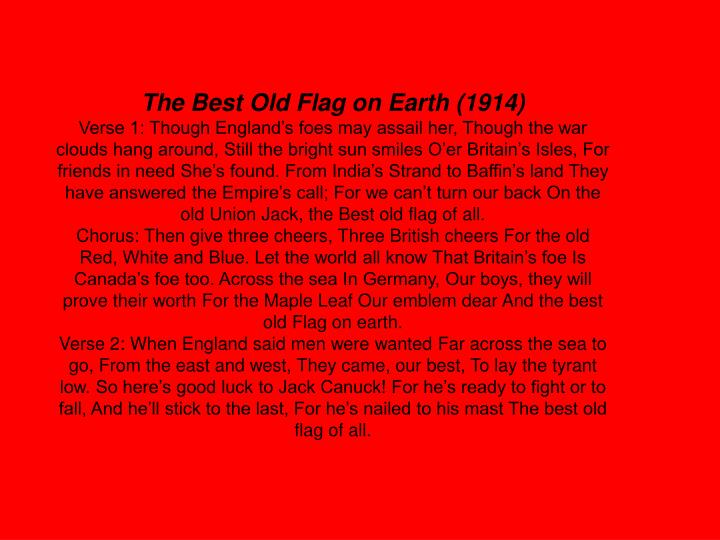 The Best Old Flag on Earth (1914)