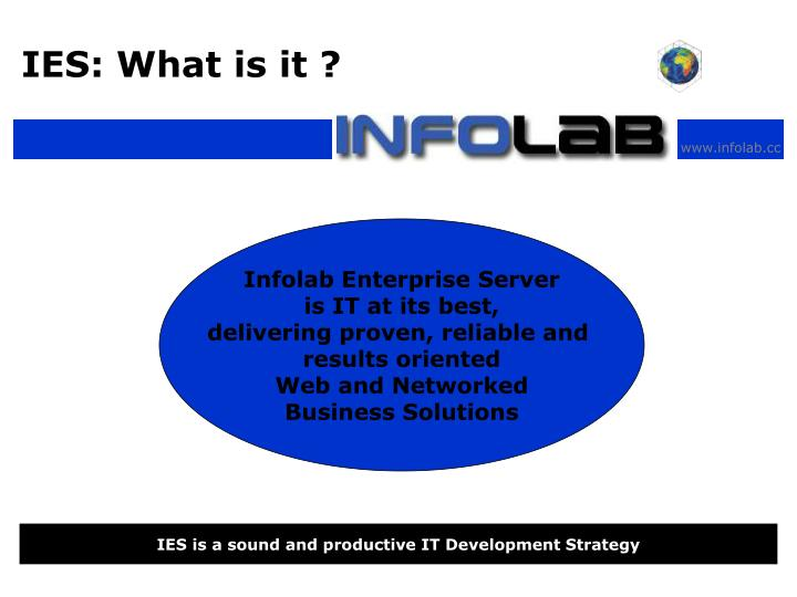 IES: What is it ?