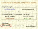 a gondolkod s treffinger f le 1990 komplex modellje