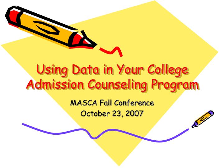 Using Data in Your College Admission Counseling Program