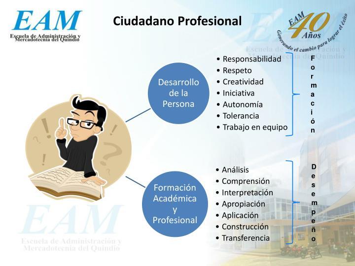 Ciudadano Profesional