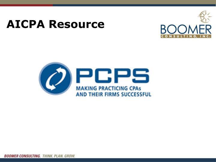 AICPA Resource