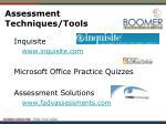 assessment techniques tools1