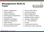 management skills tools