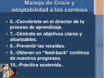 manejo de crisis y adaptabilidad a los cambios5