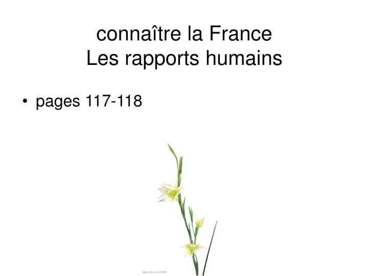 connaître la France