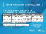 ley de promoci n industrial 97274