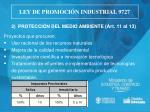 ley de promoci n industrial 97275