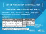 ley de promoci n industrial 97276